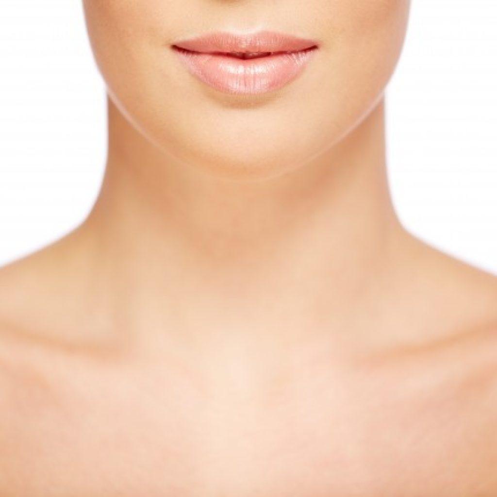 pescoço skin booster